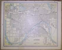 Map of St. Paul / Map of the City Of Fargo, Cass