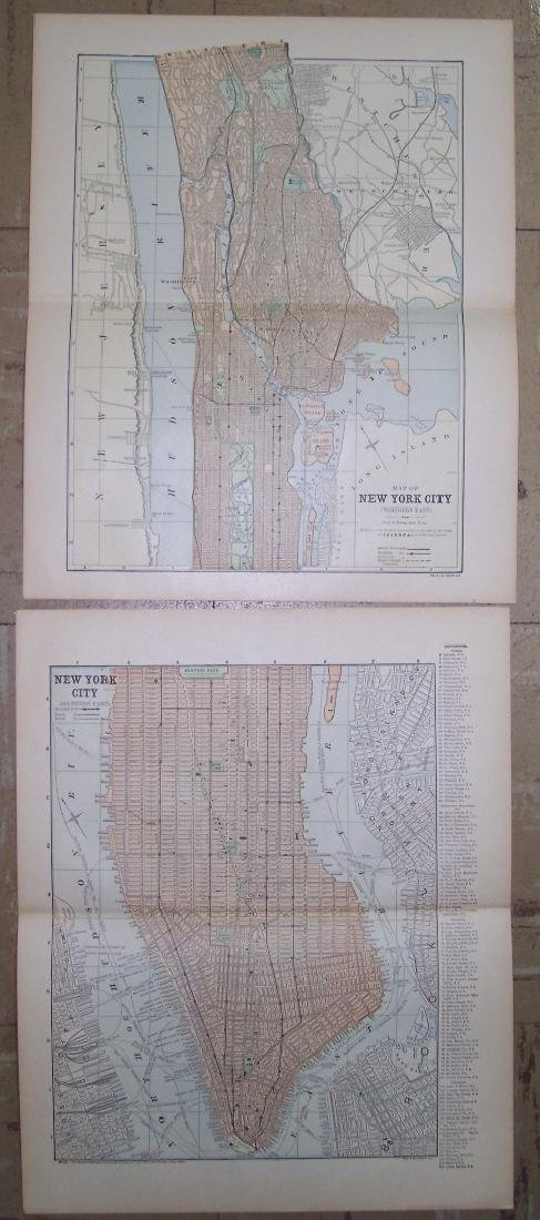 New York City (Southern Part). | Map of New York City