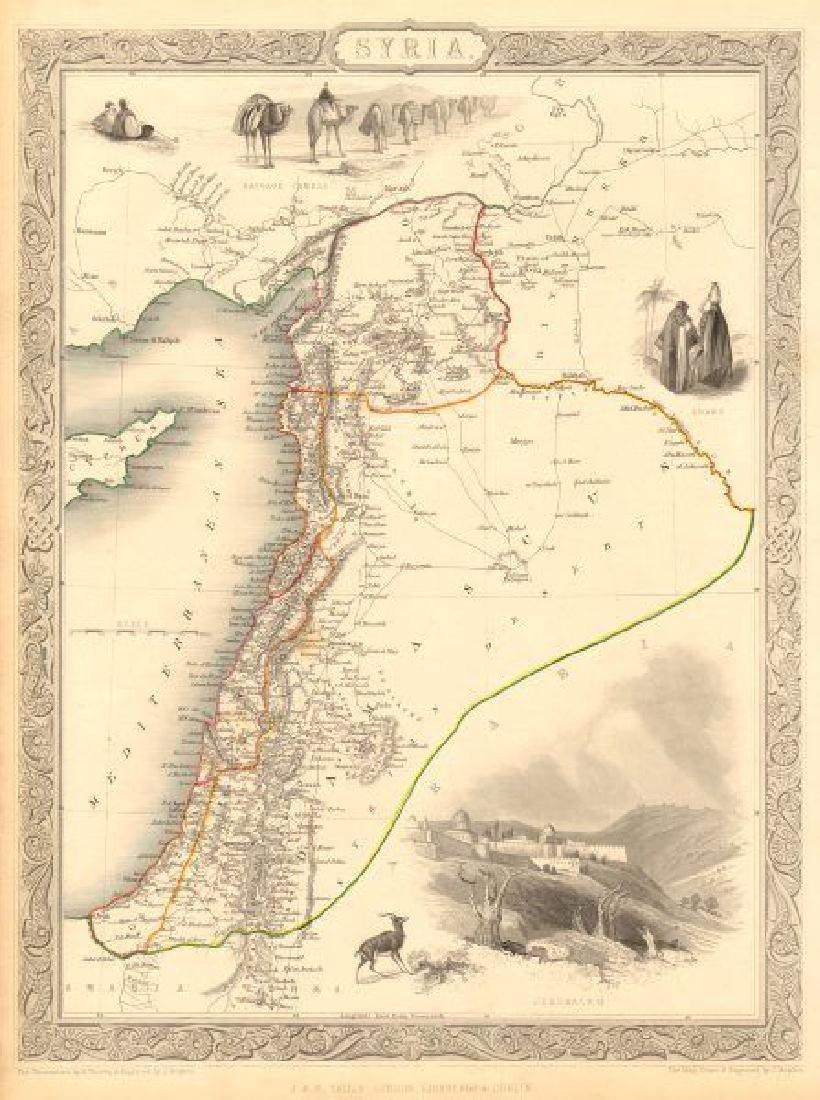 SYRIA. Levant Palestine Jordan Lebanon Israel Cyprus.