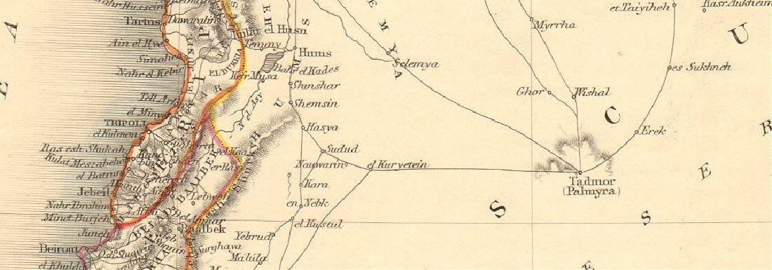 SYRIA. Levant Palestine Jordan Lebanon Israel Cyprus. - 2