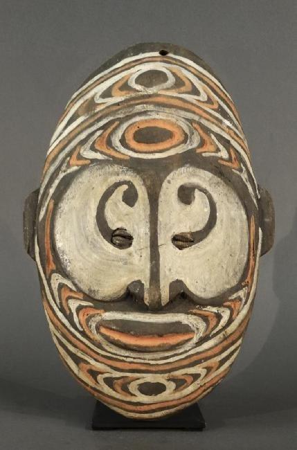 Ancestor wall mask from Torembi village - SEPIK - Papua - 5