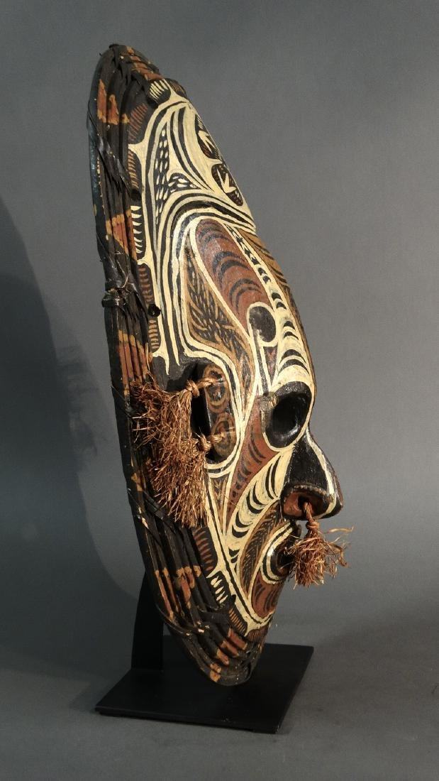 Large Savi mask - IATMUL - Middle Sepik - Papua New - 5
