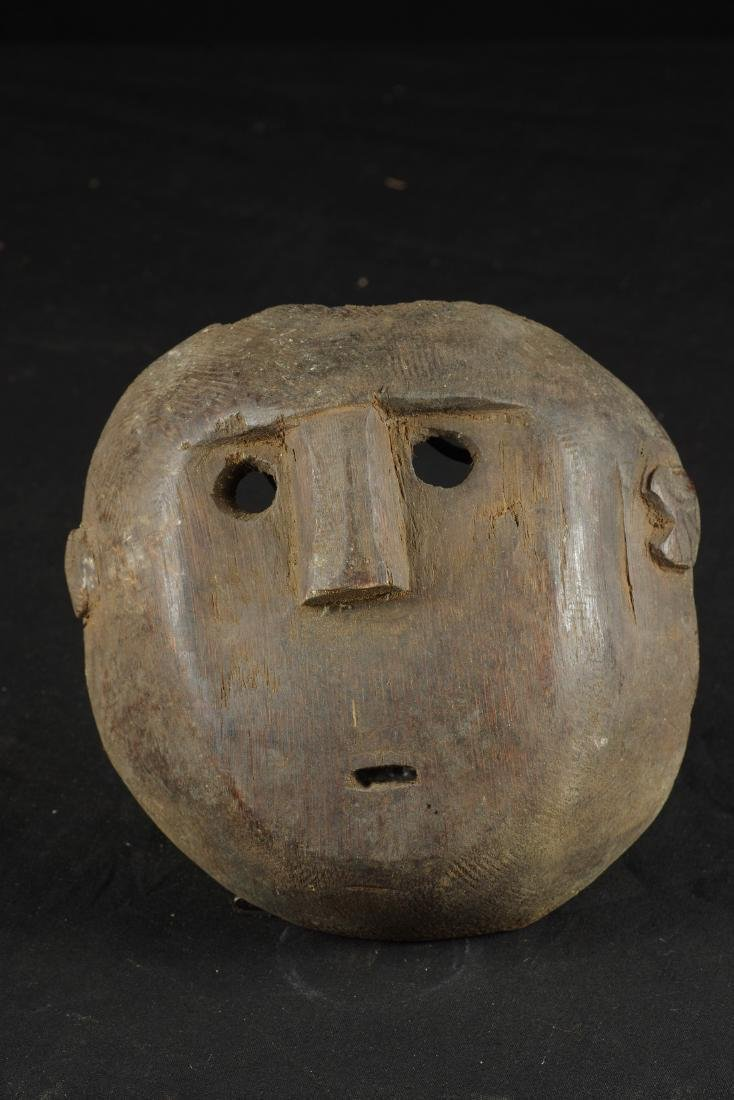 Mask with round shape