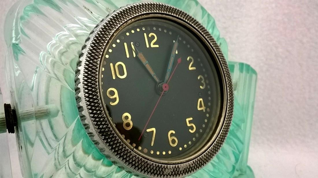 Beautiful military clock - Made in USSR - 1950s - 4