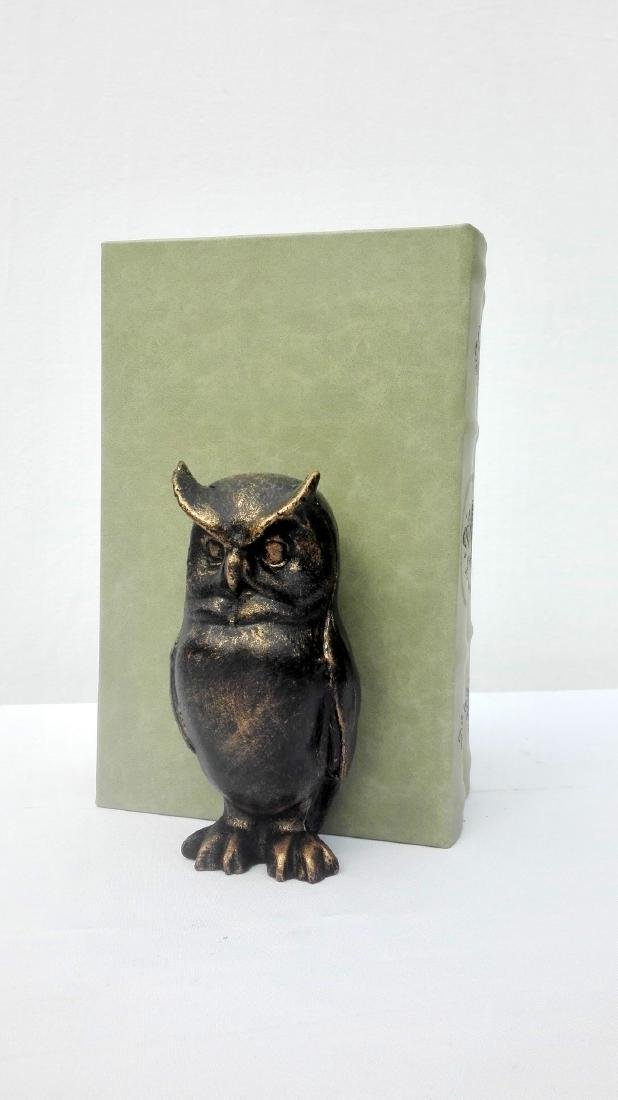 Cast Iron Owl bookends - 3