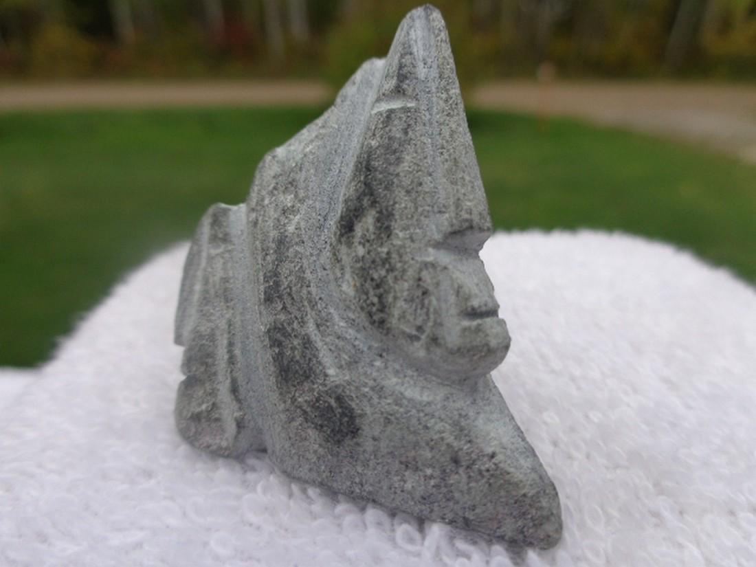 lucy tasseor tutsweetok inuit/ eskimo carving - 3