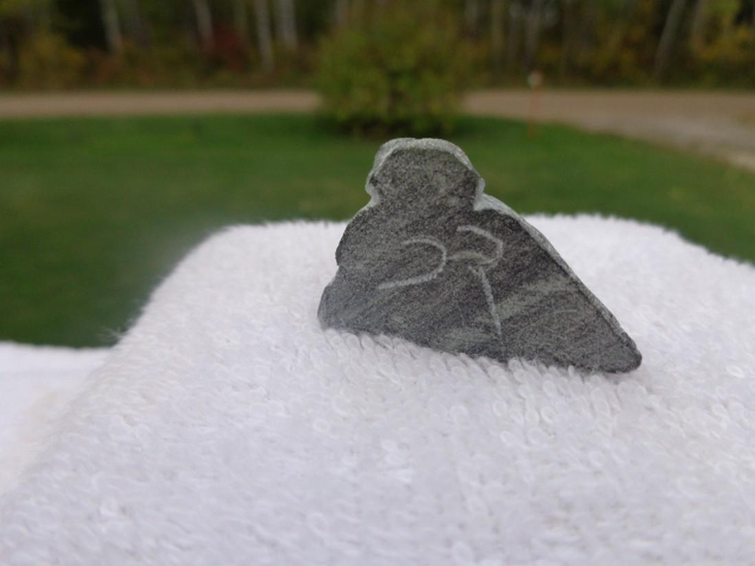 lucy tasseor tutsweetok inuit/ eskimo carving - 4