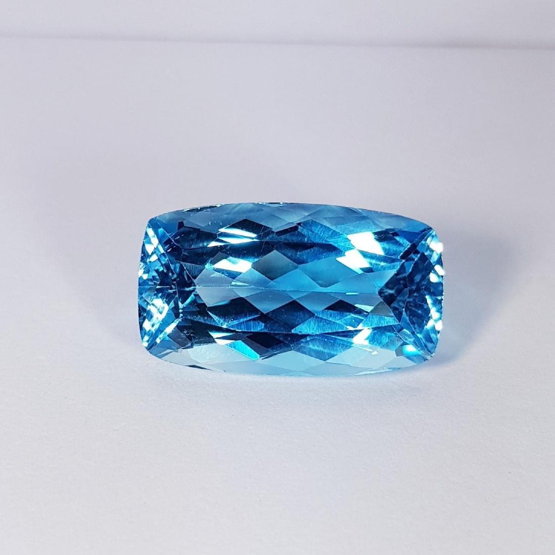 Natural Swiss Blue Topaz - 25.16 ct
