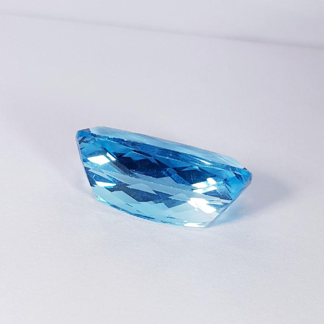 Natural Swiss Blue Topaz - 25.16 ct - 4
