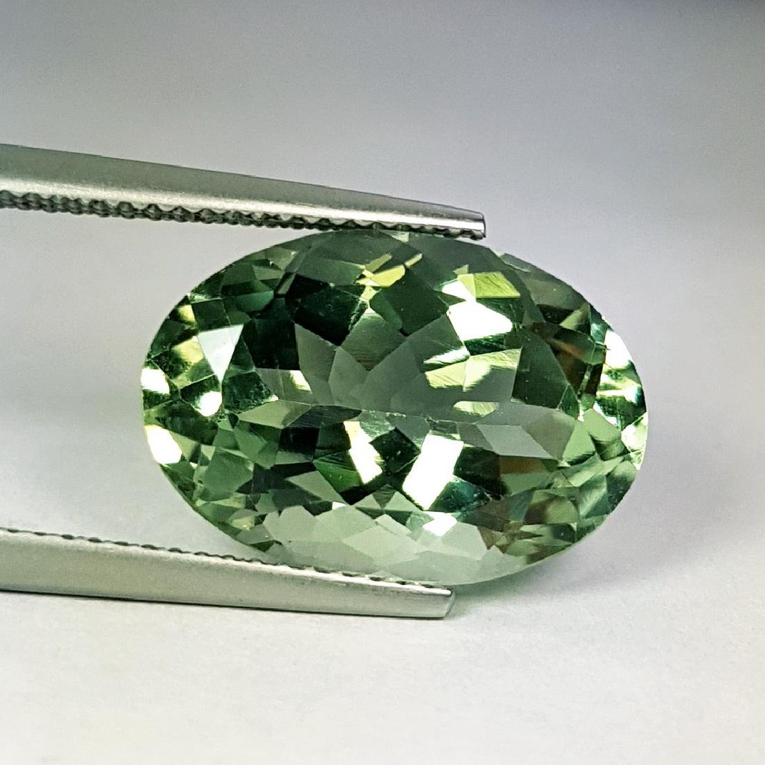 Stunning Luster Natural Green Amethyst - 9.28 ct