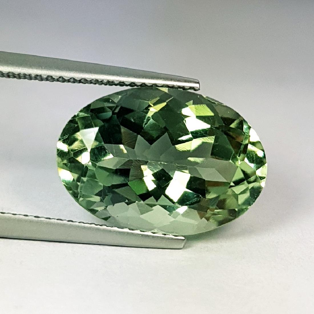 Stunning Luster Natural Green Amethyst - 9.28 ct - 4