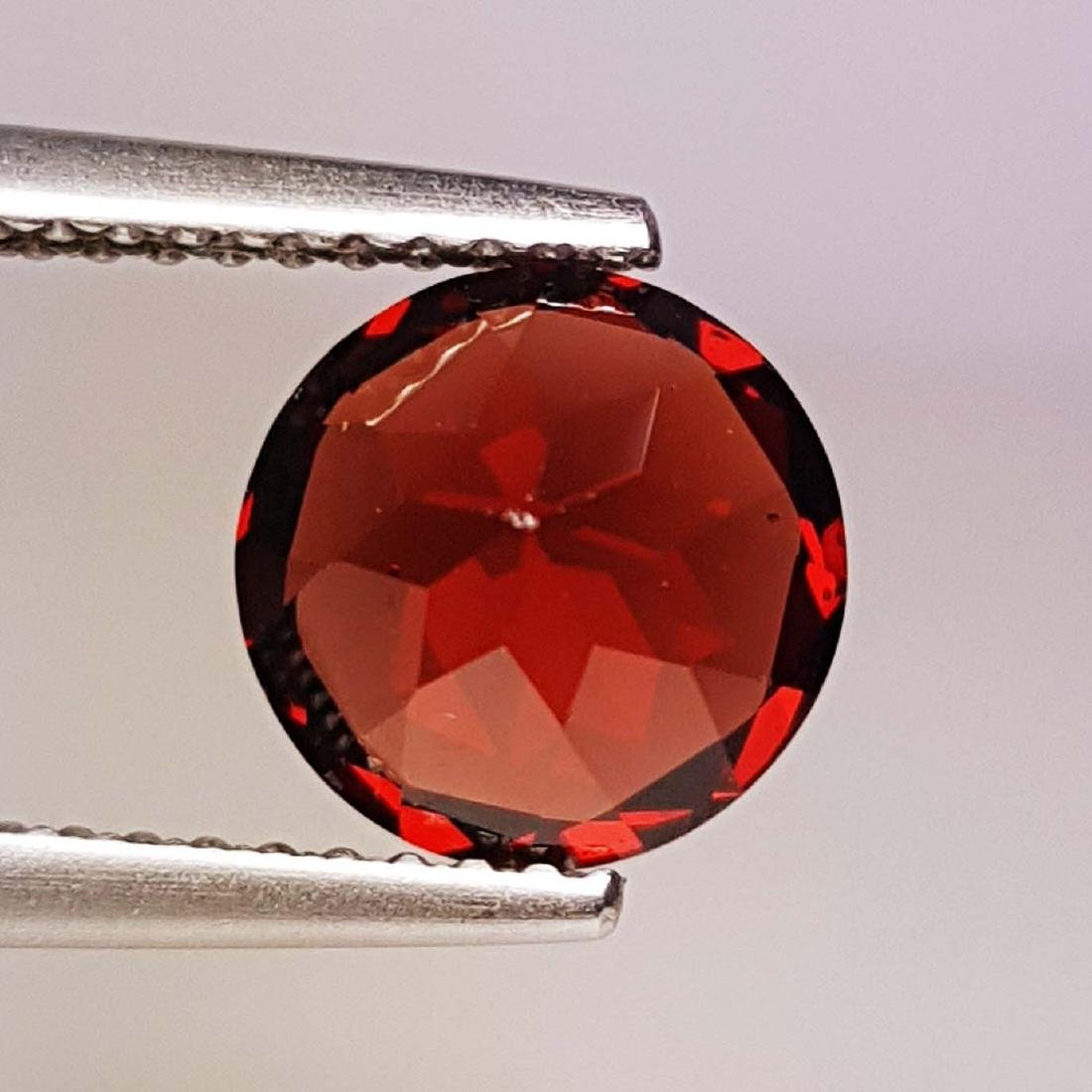 Natural Pyrope - Almandite Red Garnet - 2.35 ct - 4