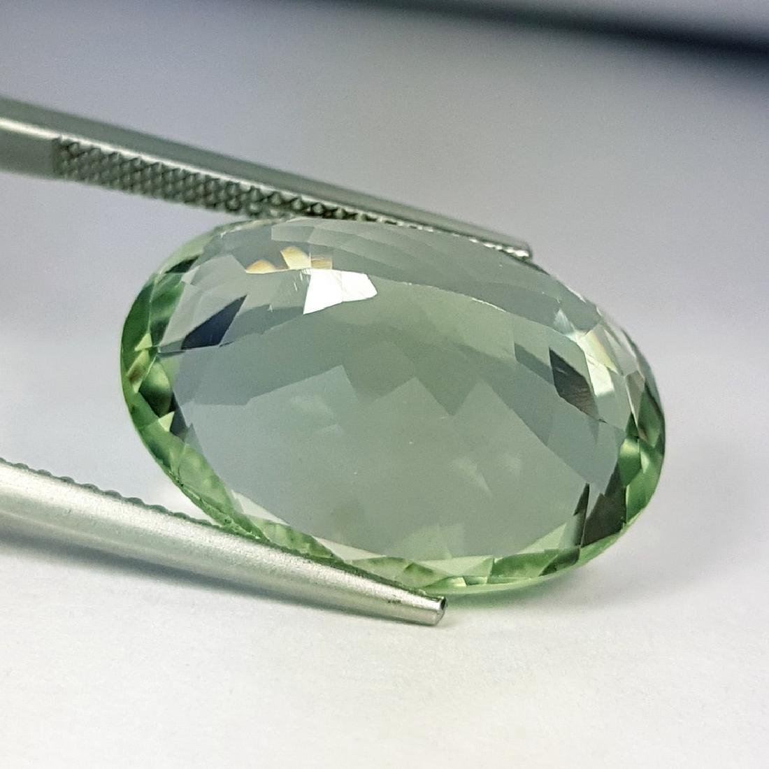 Stunning Luster Natural Green Amethyst - 11.36 ct - 2