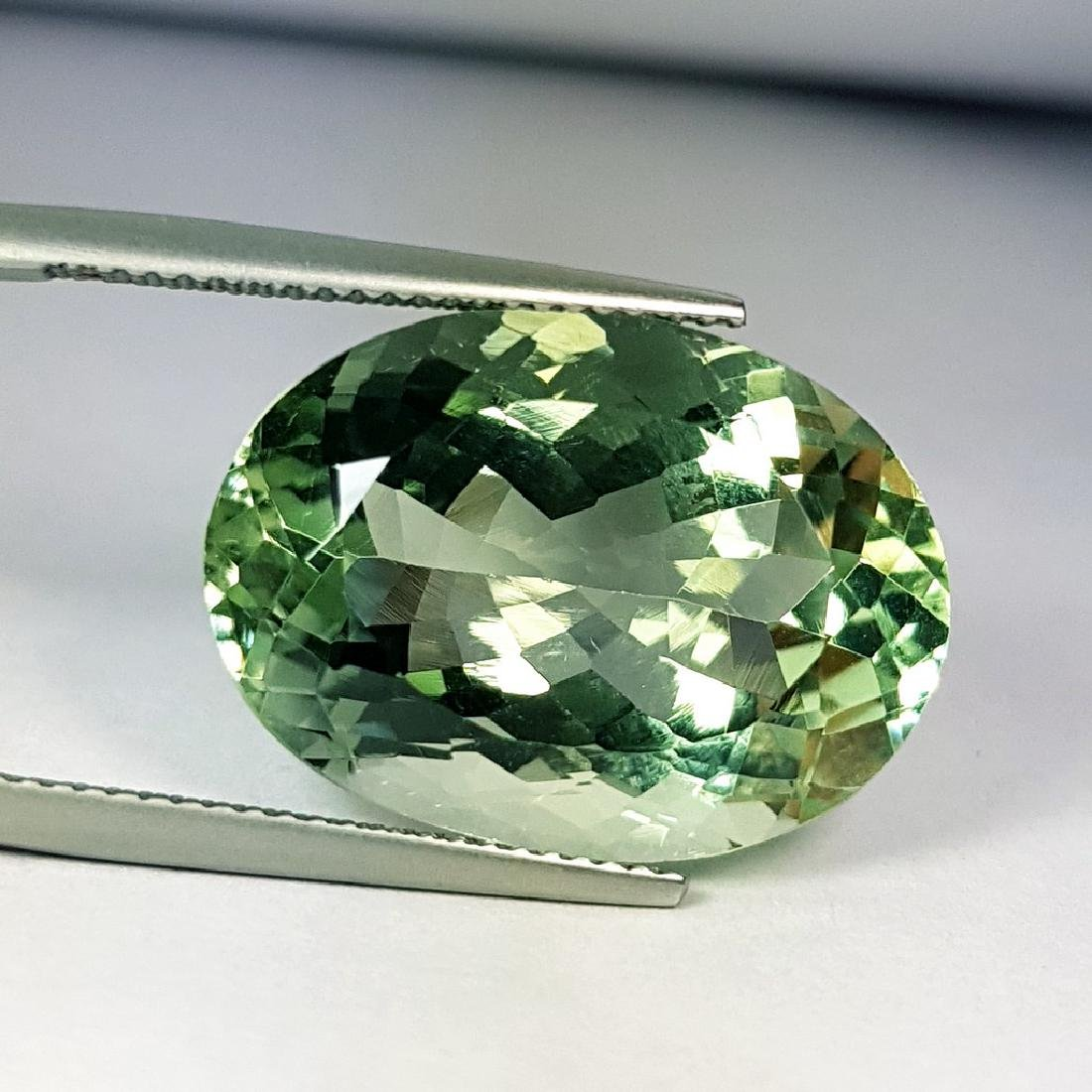 Stunning Luster Natural Green Amethyst - 11.36 ct - 4