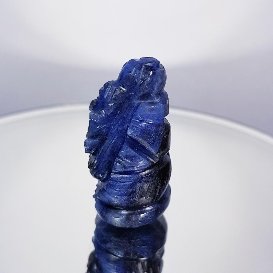 Sodalite Lord Ganesha Carving - 34.23 ct - 3