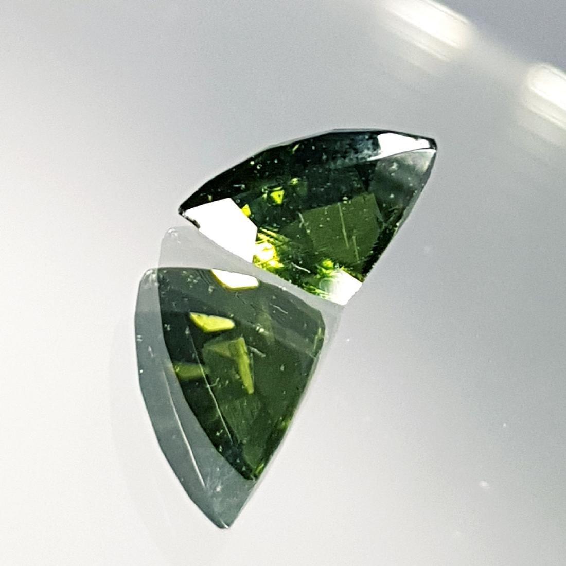 Natural Moldavite - 0.50 ct - 4