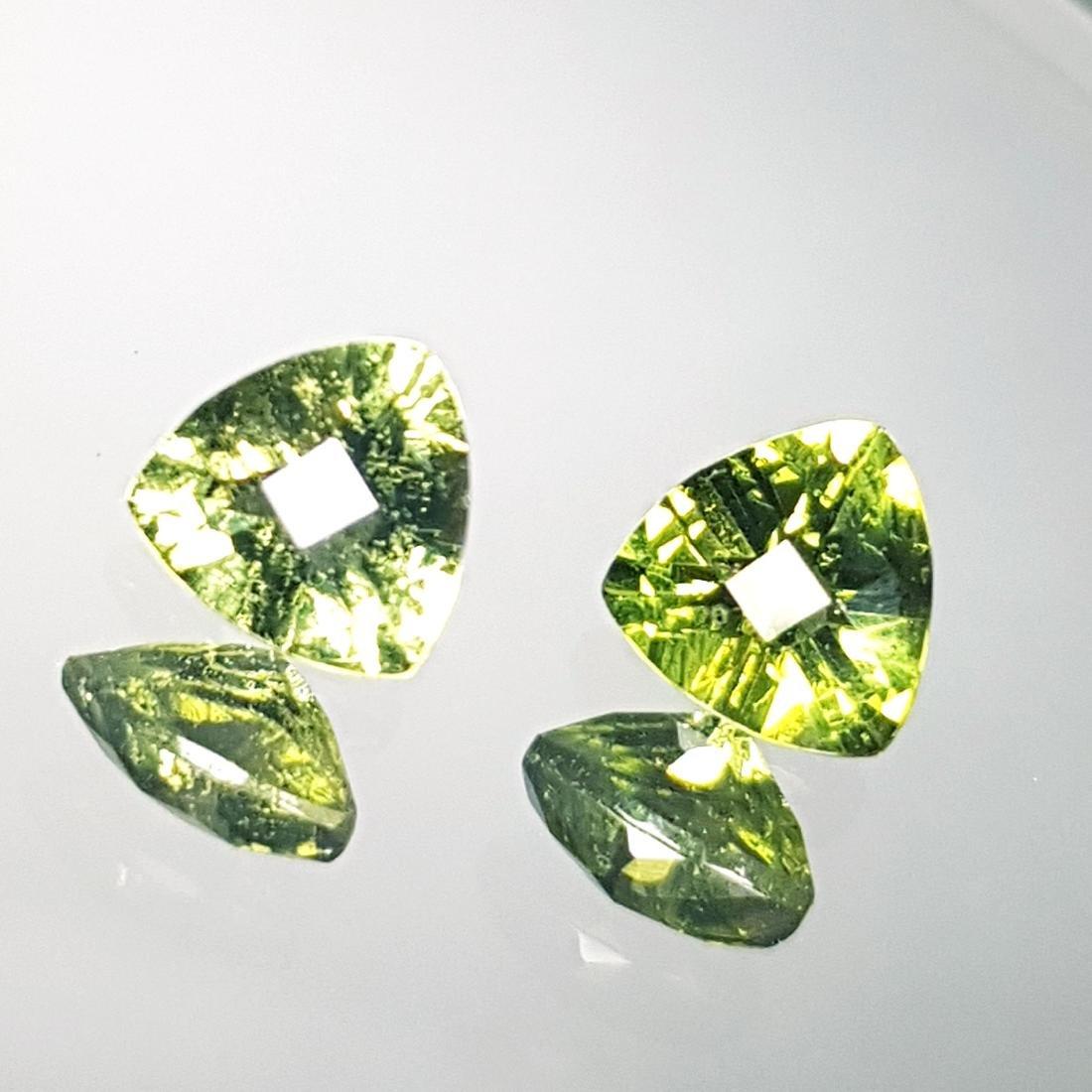 2 Pcs of Natural Moldavite - 1.14 ct