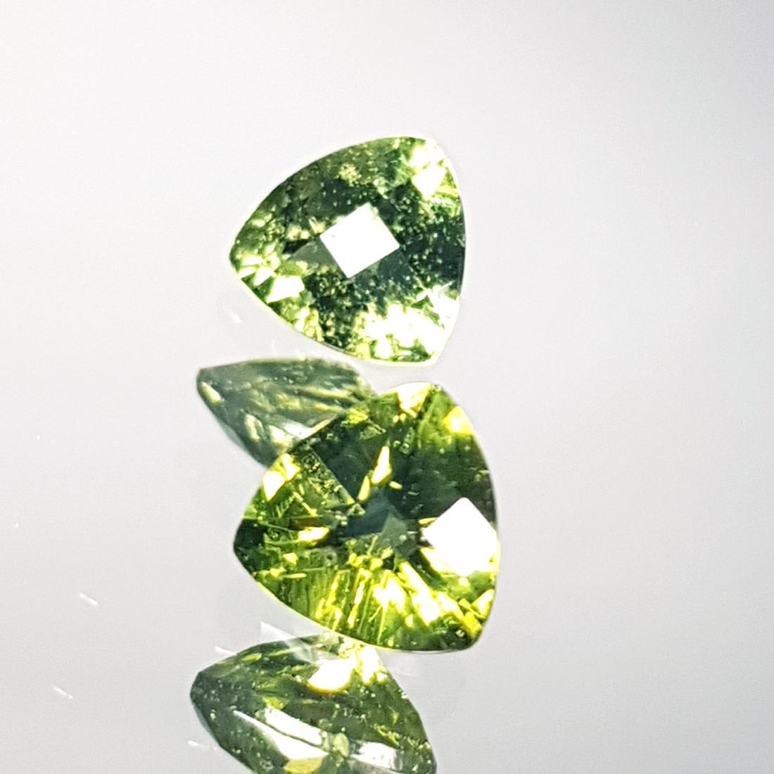 2 Pcs of Natural Moldavite - 1.14 ct - 3