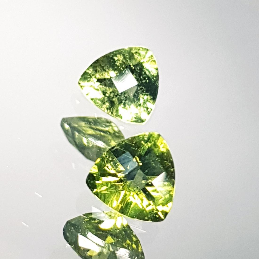 2 Pcs of Natural Moldavite - 1.14 ct - 4