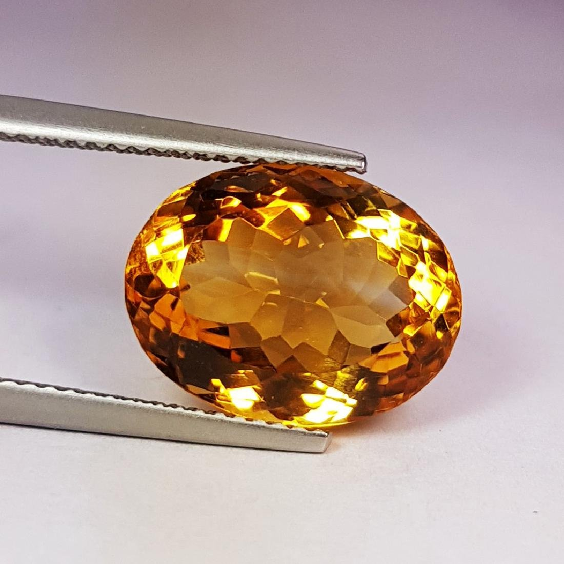 Marvelous Oval Cut Natural Citrine - 7.84 ct