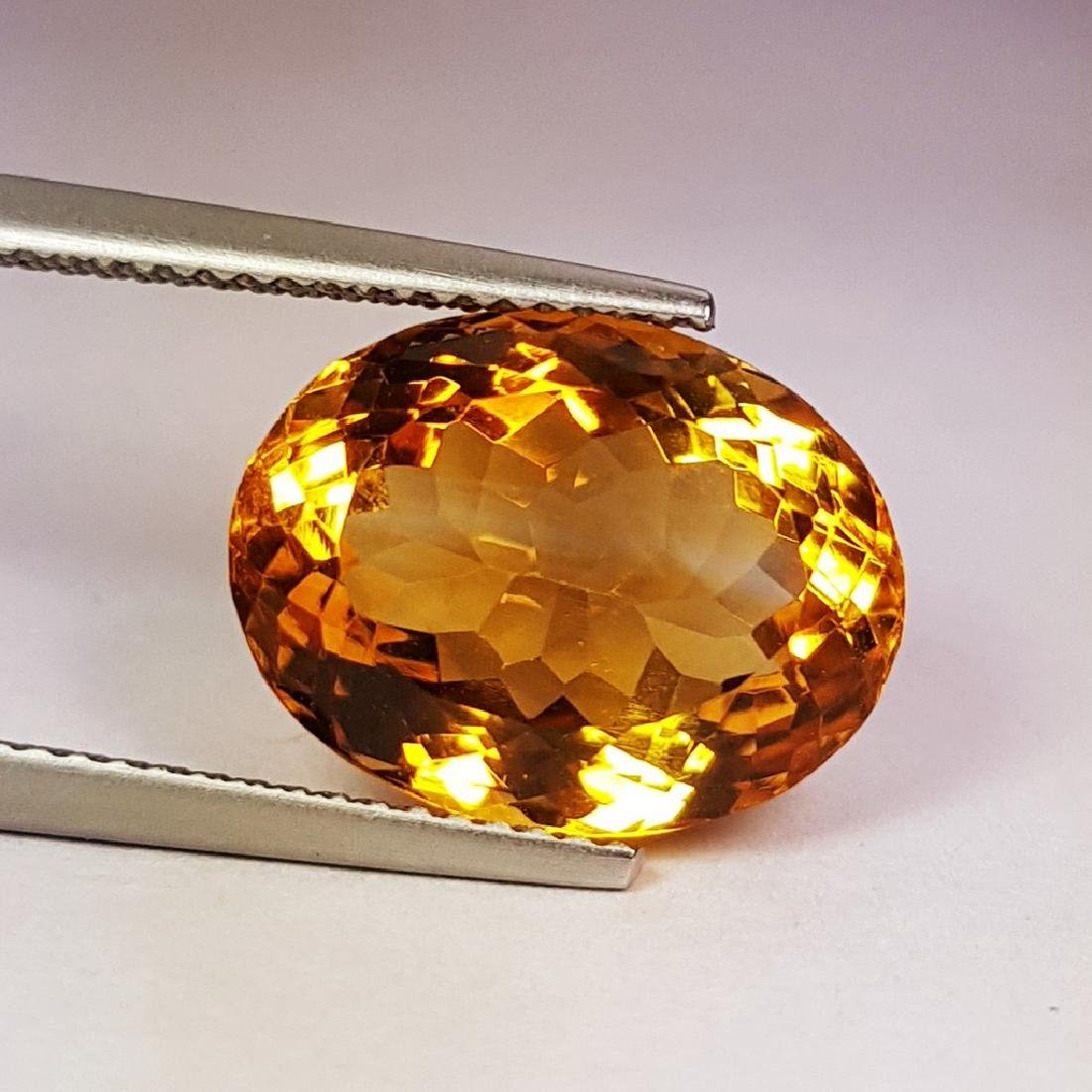 Marvelous Oval Cut Natural Citrine - 7.84 ct - 3
