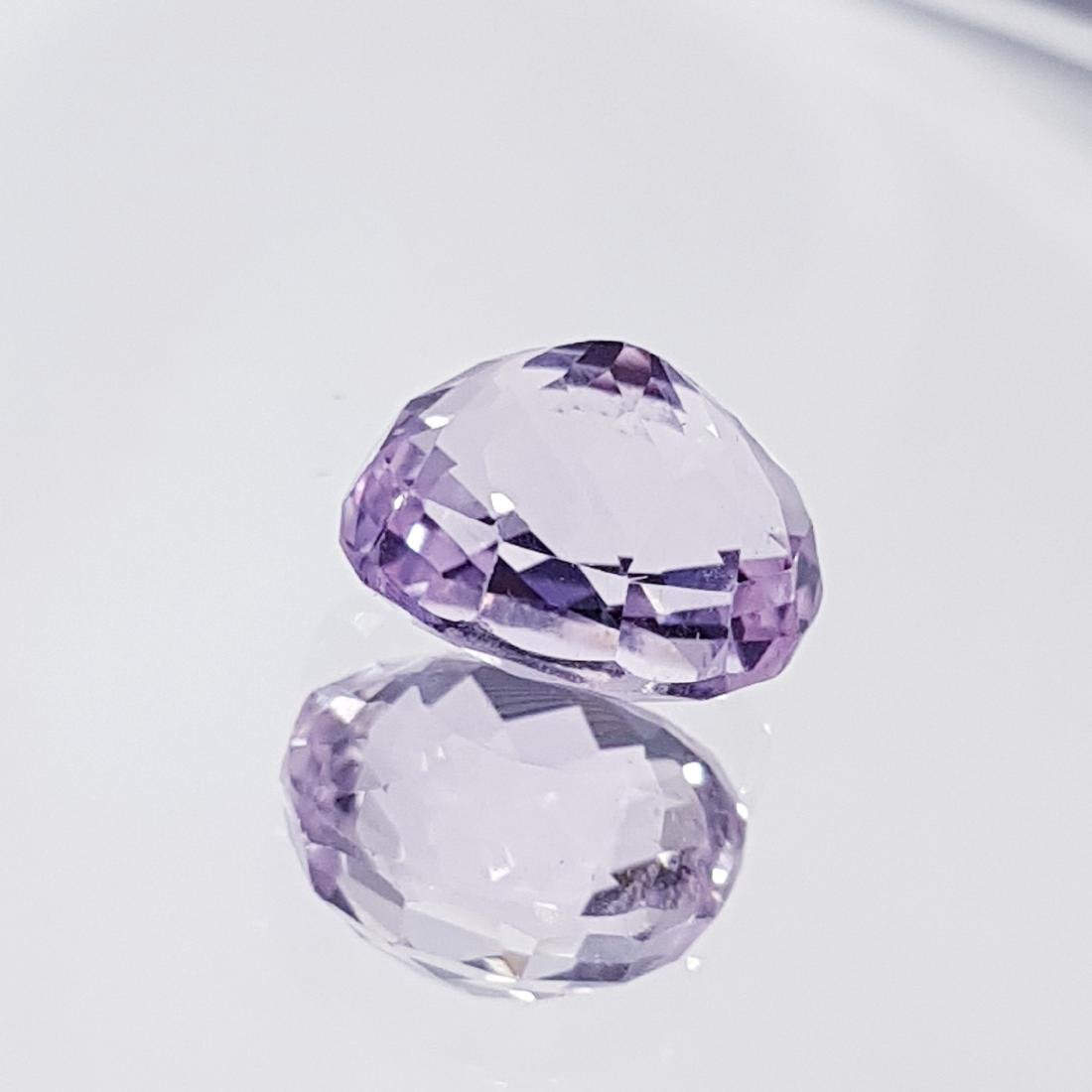Natural Pink Kunzite - 4.18 ct - 3