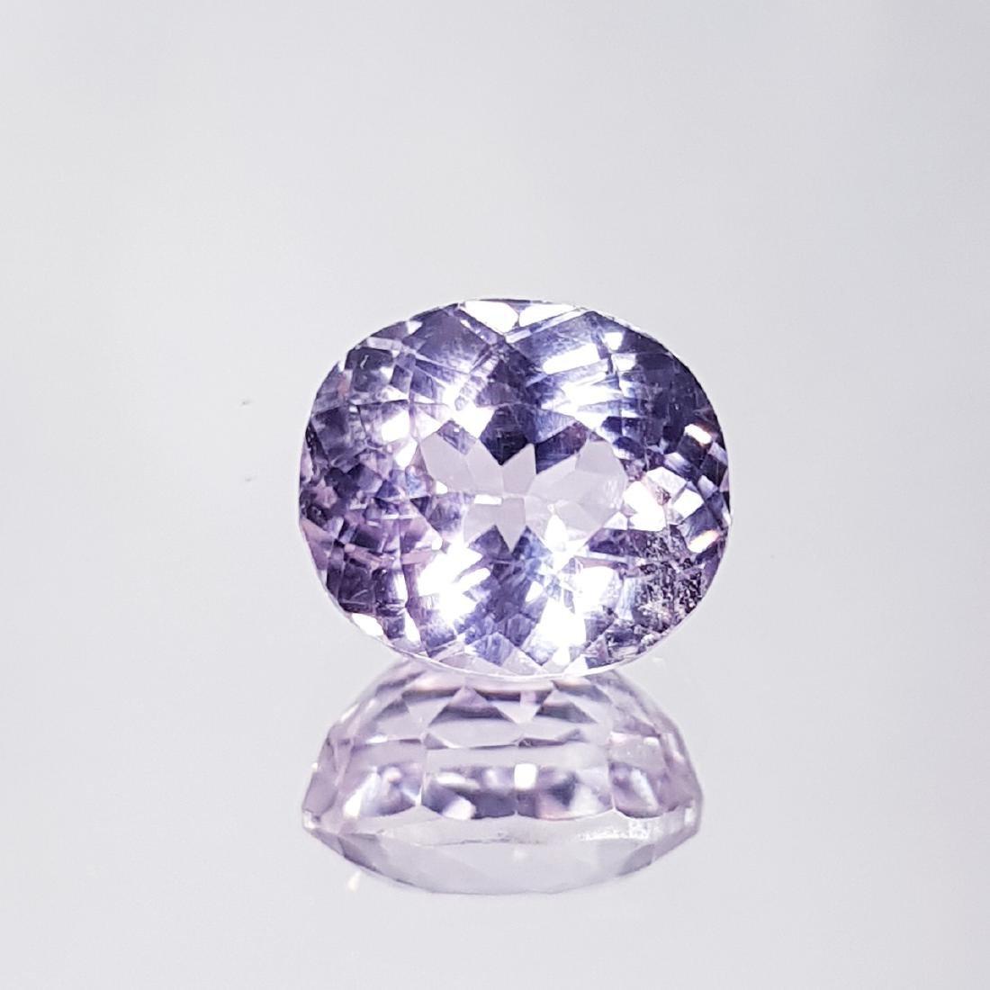 Natural Pink Kunzite - 4.18 ct - 4