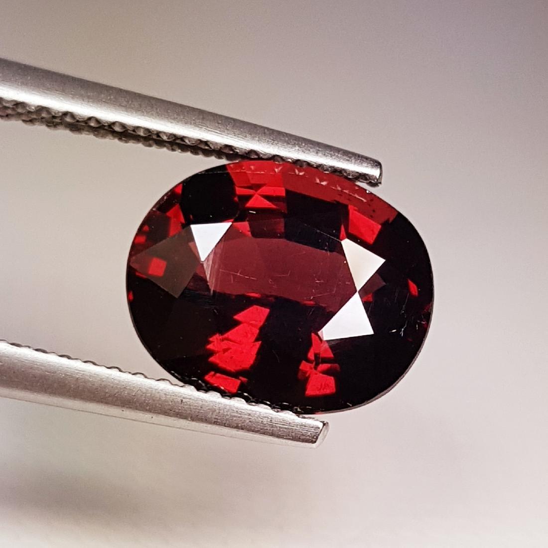 Beautiful Natural Rhodolite Garnet - 3.71 ct