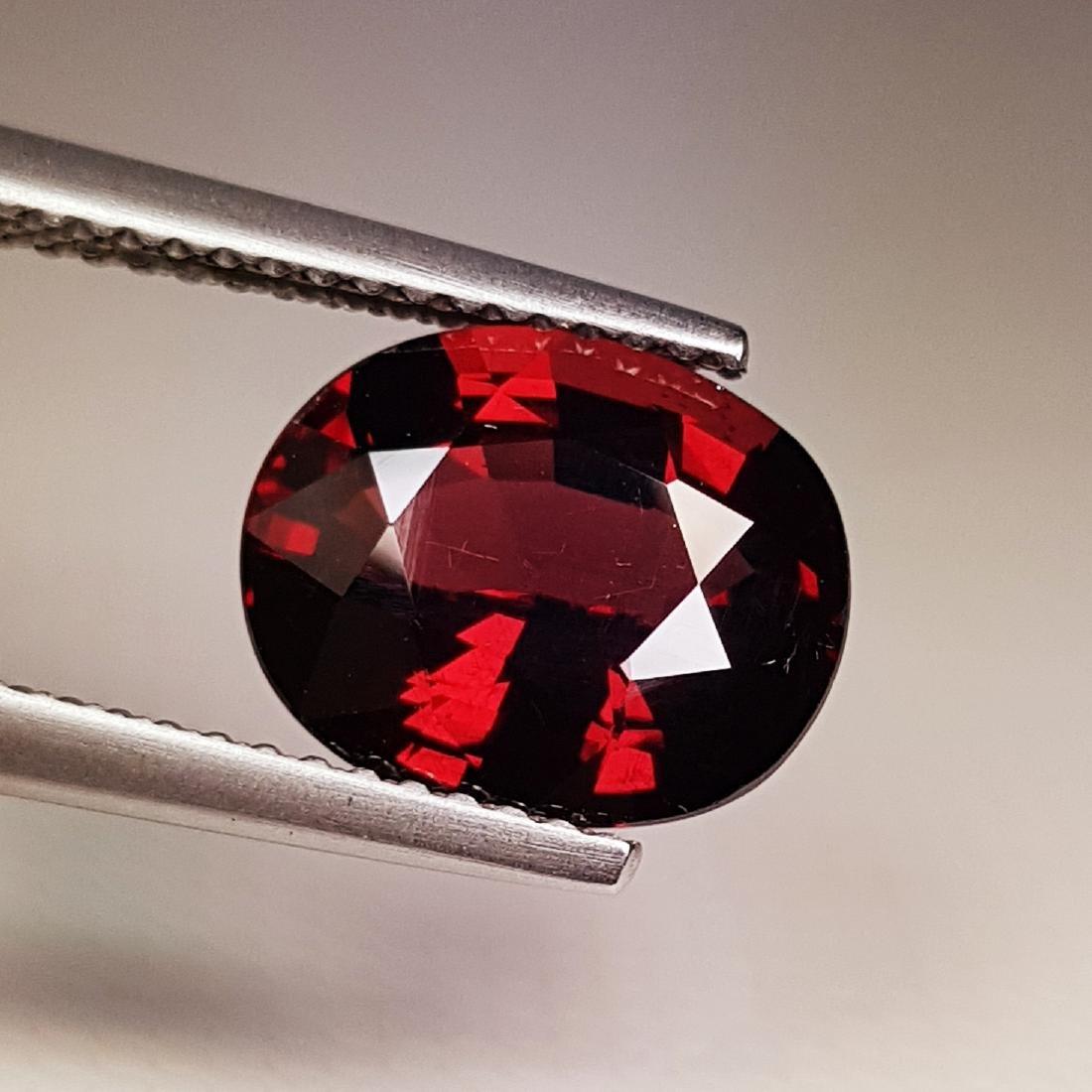 Beautiful Natural Rhodolite Garnet - 3.71 ct - 4