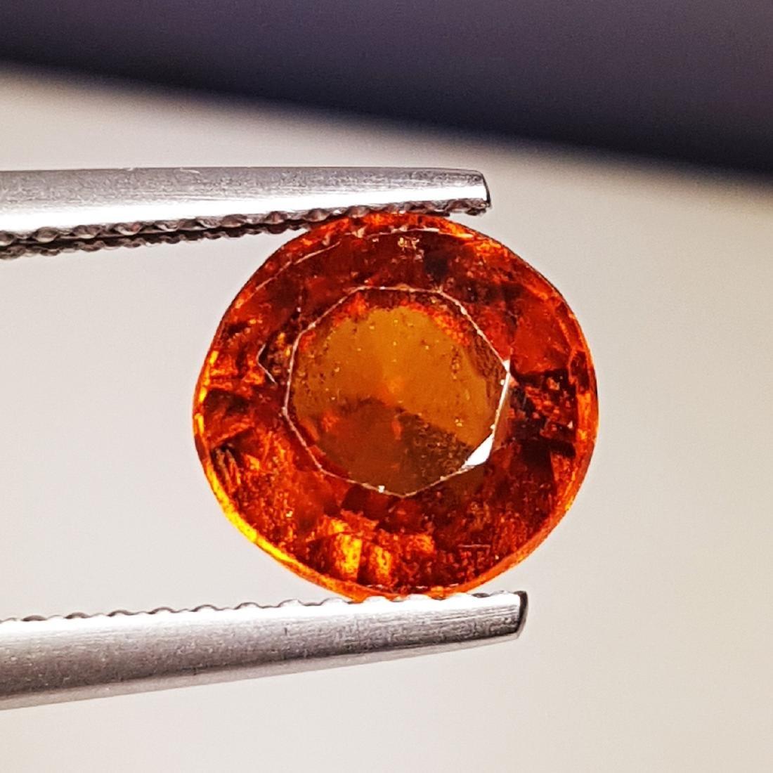 Hessonite Garnet - 2.46 ct - 4