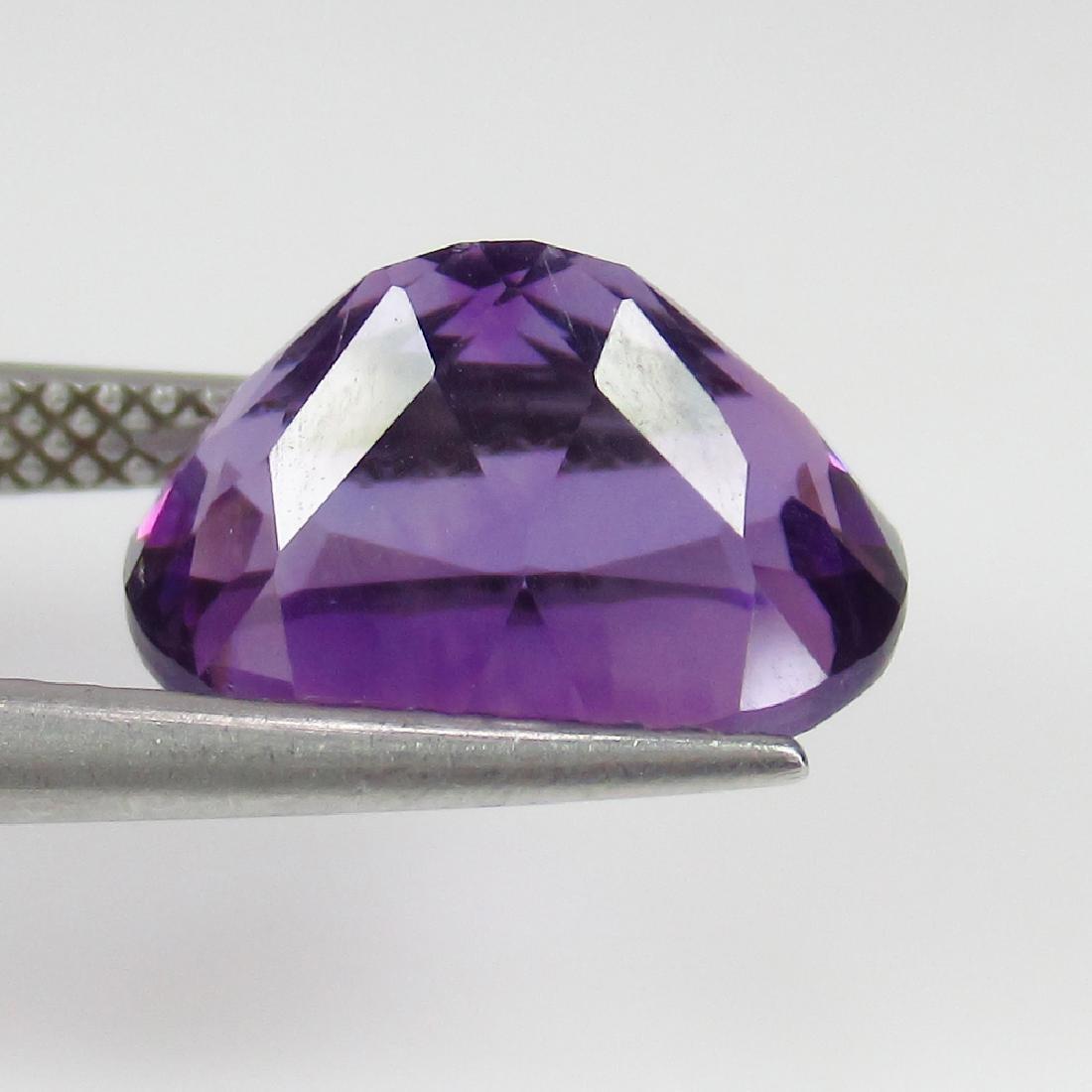 4.17 Ct Genuine Purple Amethyst Nice Oval Cut - 2