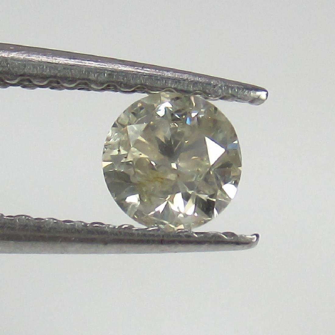 0.30 Ct Genuine Loose Diamond 4.2 mm Round Cut