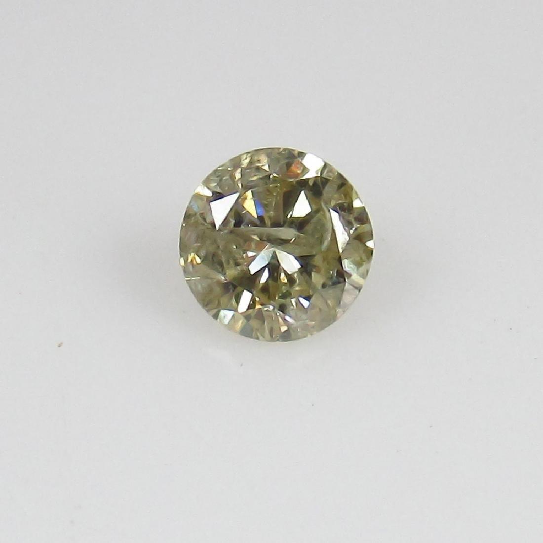 0.18 Ct Genuine Loose Diamond 3.7 mm Round Cut