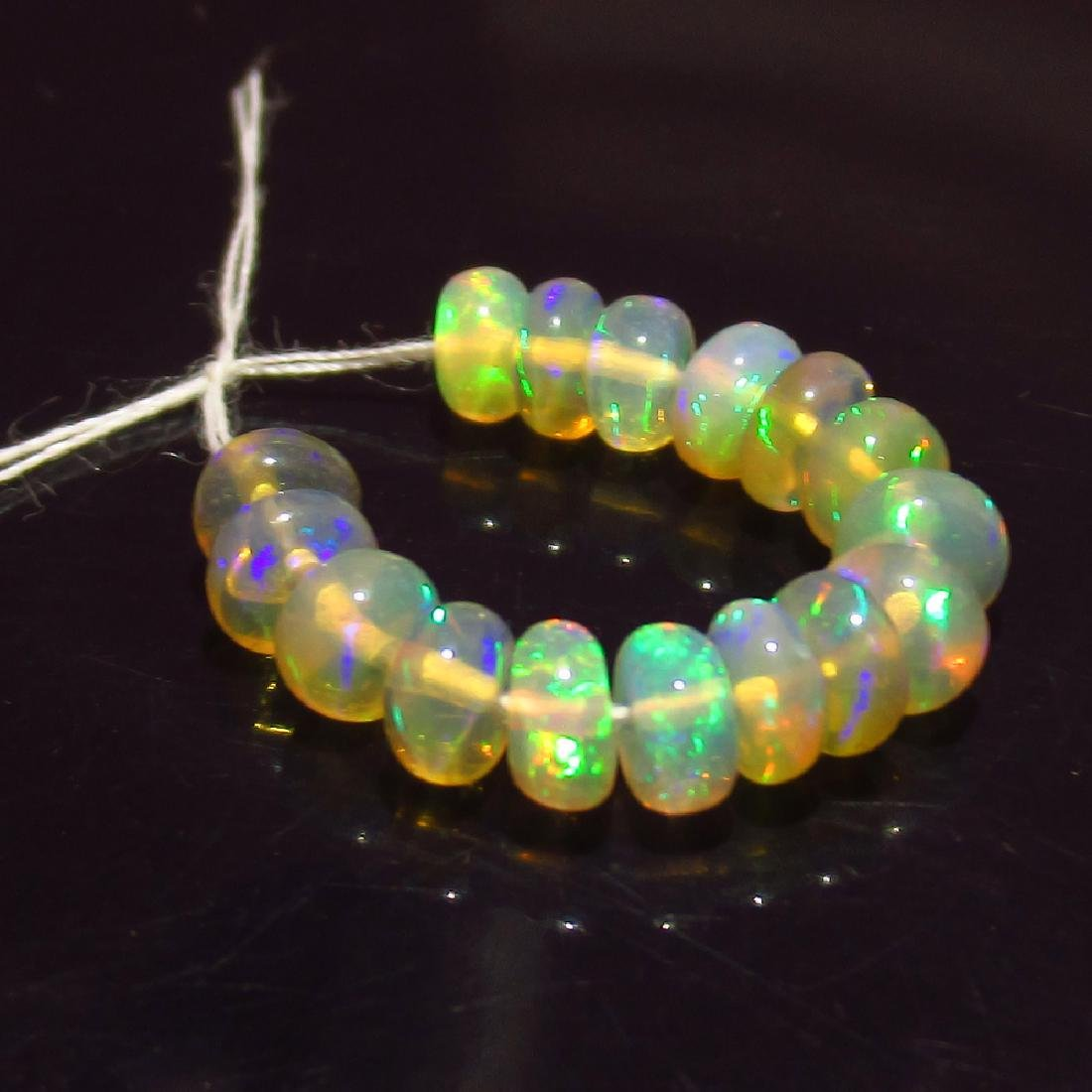 3.00 Ct Genuine 16 Loose Drilled Round Multi-Color Fire