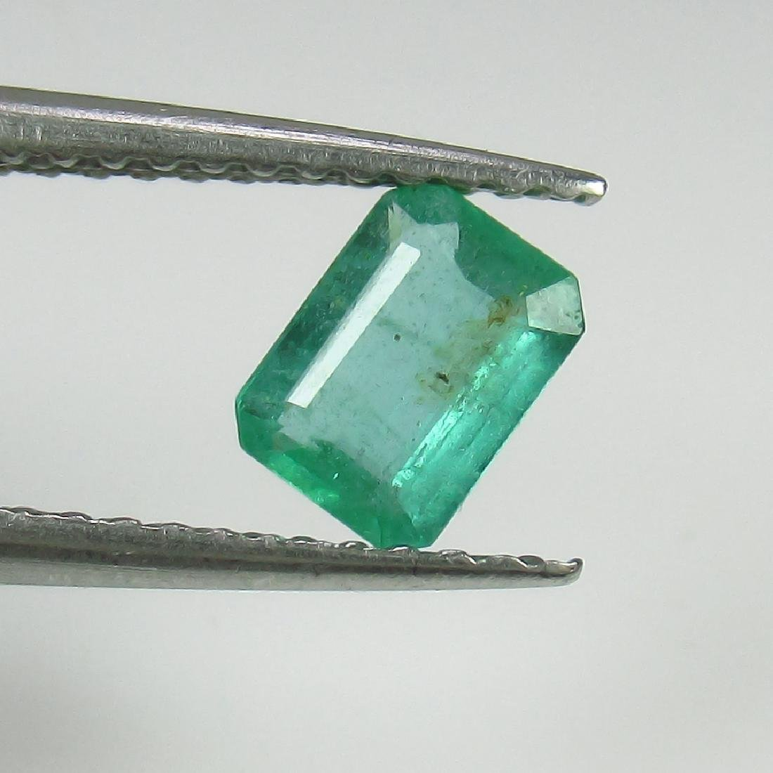 0.48 Ct Genuine Loose Zambian Emerald Octagon cut