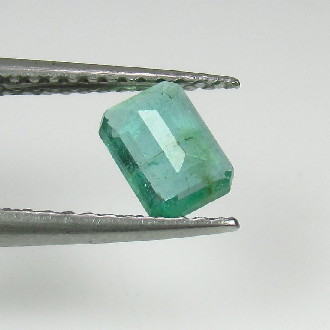 0.48 Ct Genuine Loose Zambian Emerald Octagon cut - 2