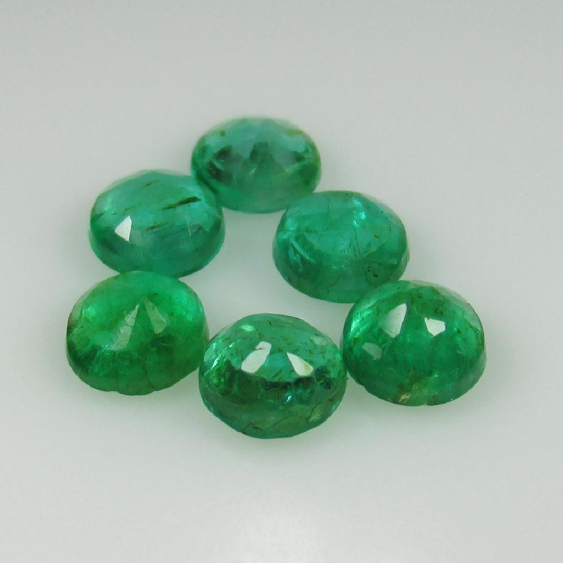 2.35 Ct Genuine Zambian Emerald Calibrate 4.7 mm - 2