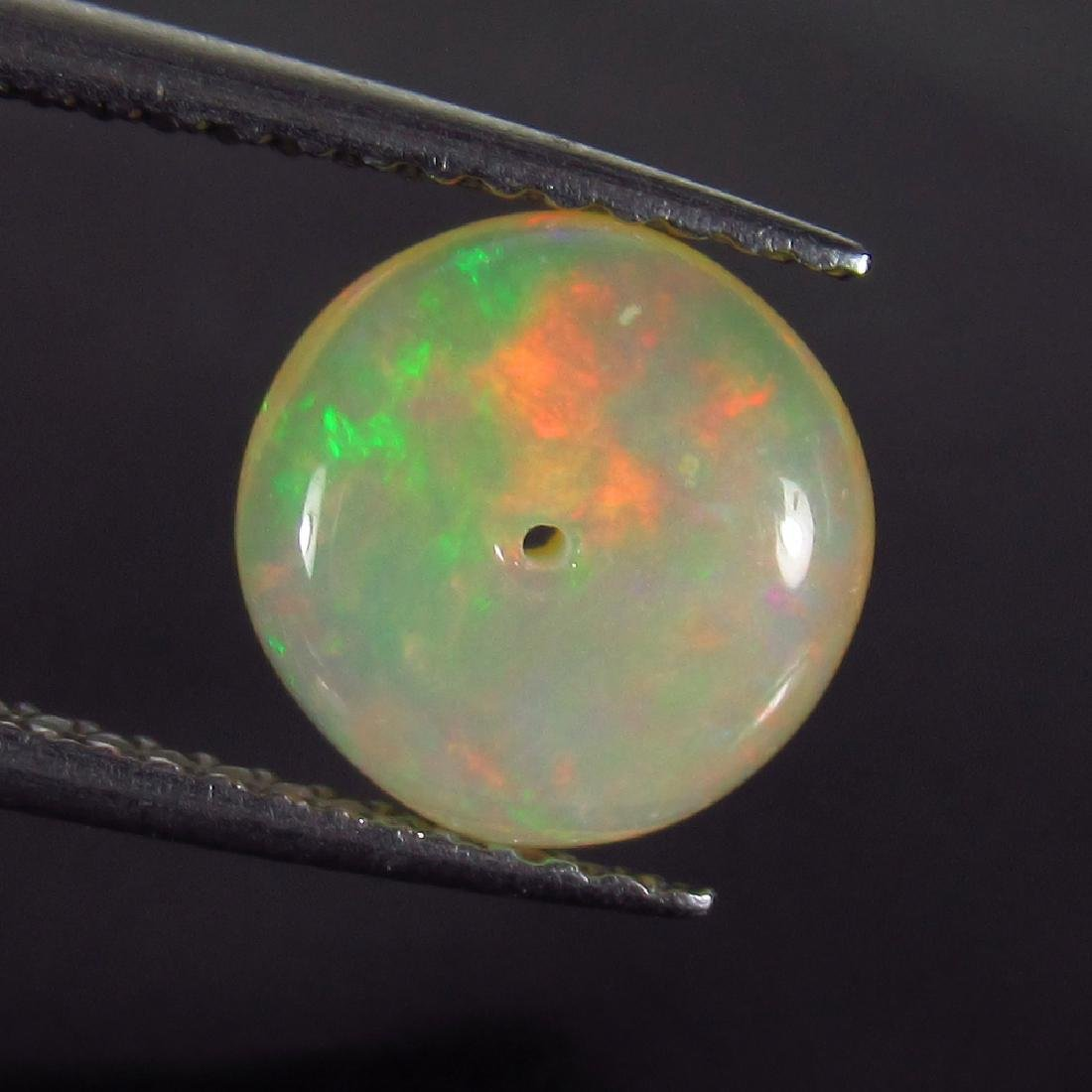 1.62 Ct Genuine Drilled Multi-Color Fire 8.5 mm Round