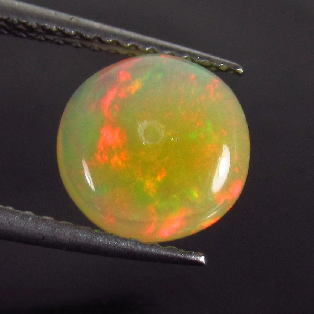 1.62 Ct Genuine Drilled Multi-Color Fire 8.5 mm Round - 2