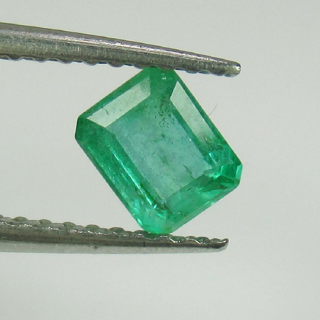 0.54 Ct Genuine Zambian Emerald Octagon cut