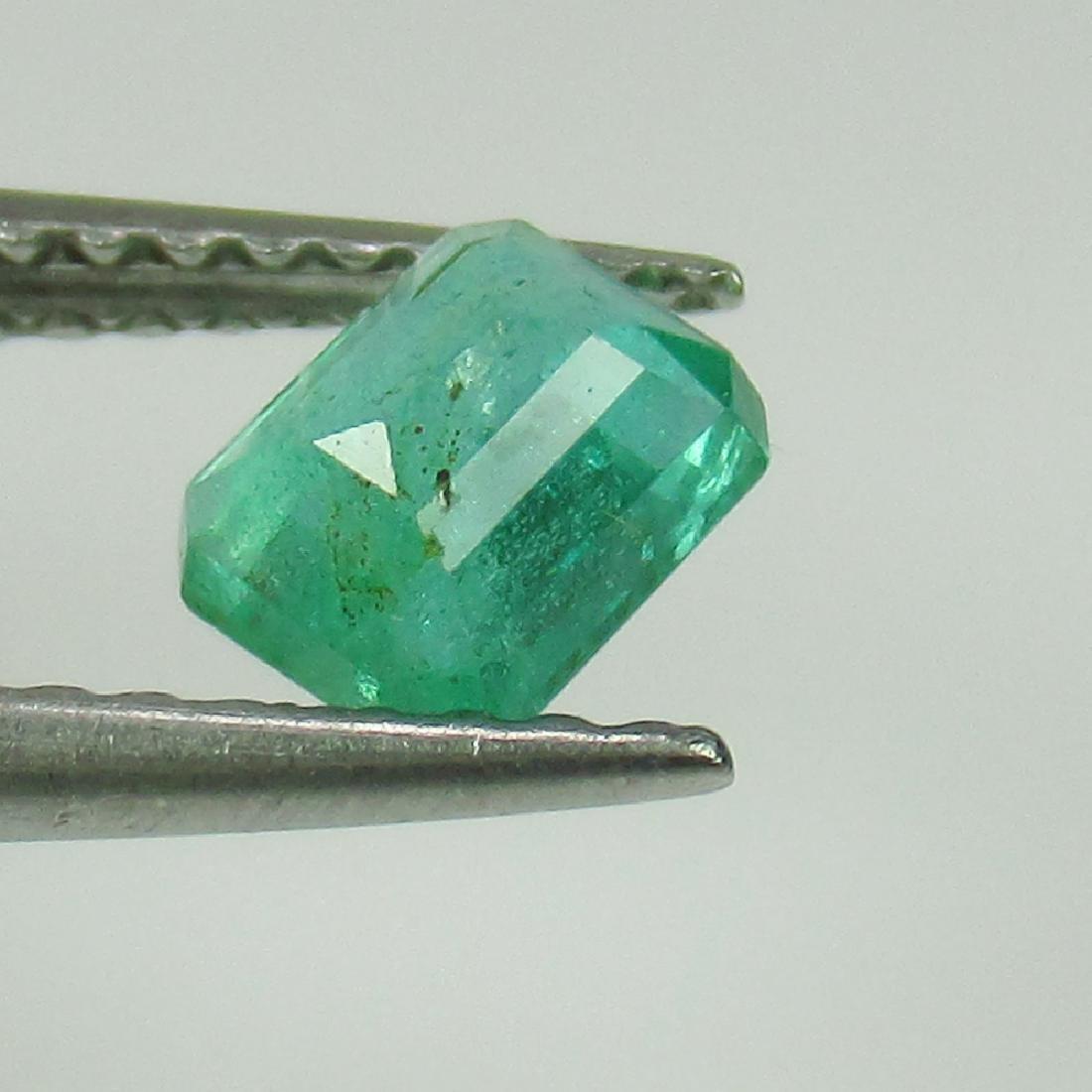 0.54 Ct Genuine Zambian Emerald Octagon cut - 2