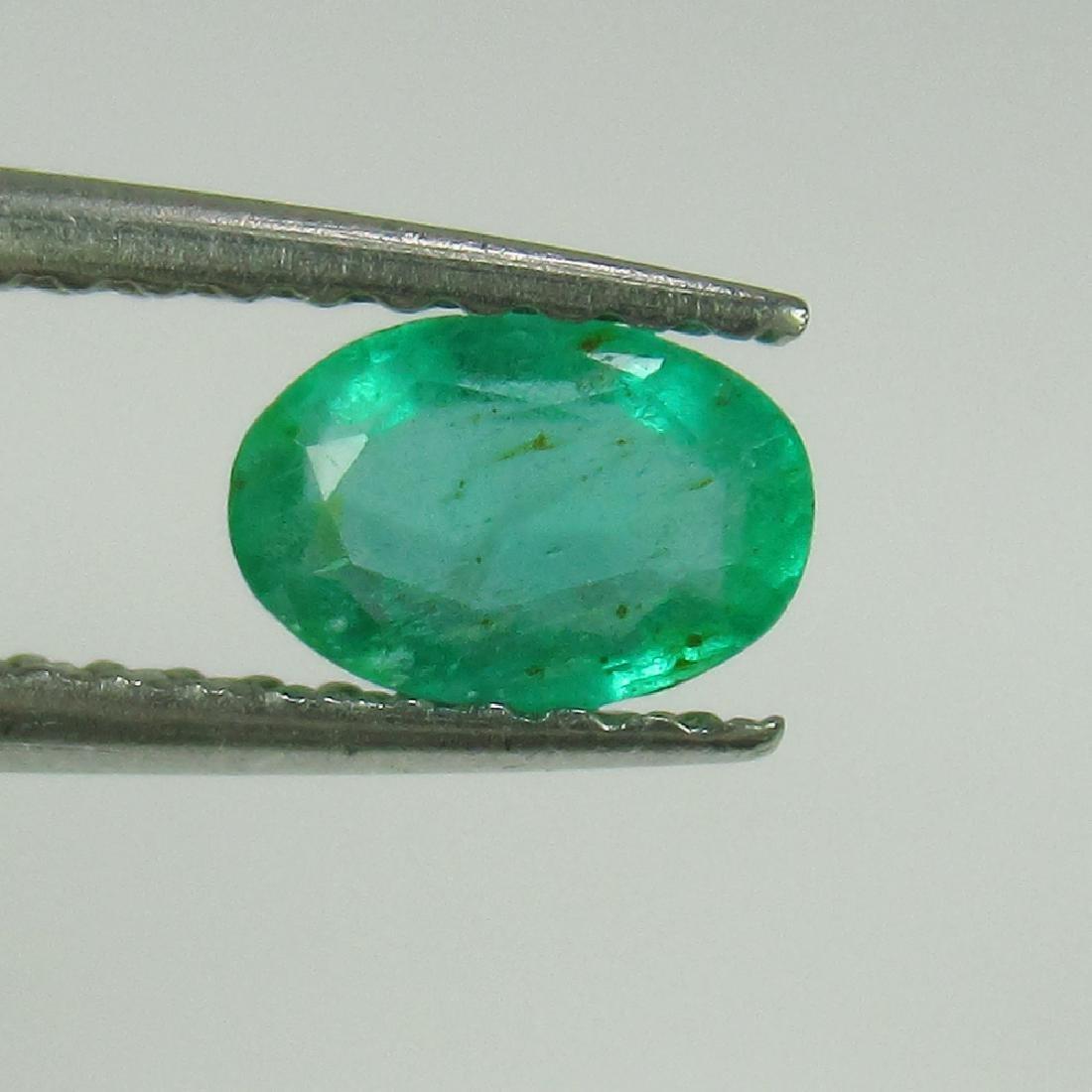 0.48 Ct Genuine Zambian Emerald Nice Oval Cut