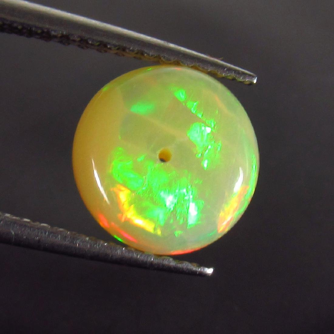 1.46 Ct Genuine Drilled Multi-Color Fire 8.5 mm Round