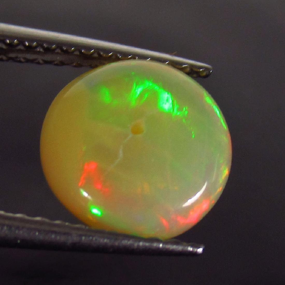 1.46 Ct Genuine Drilled Multi-Color Fire 8.5 mm Round - 2
