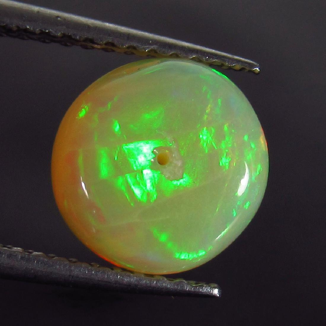 1.46 Ct Genuine Drilled Multi-Color Fire 8.5 mm Round - 3