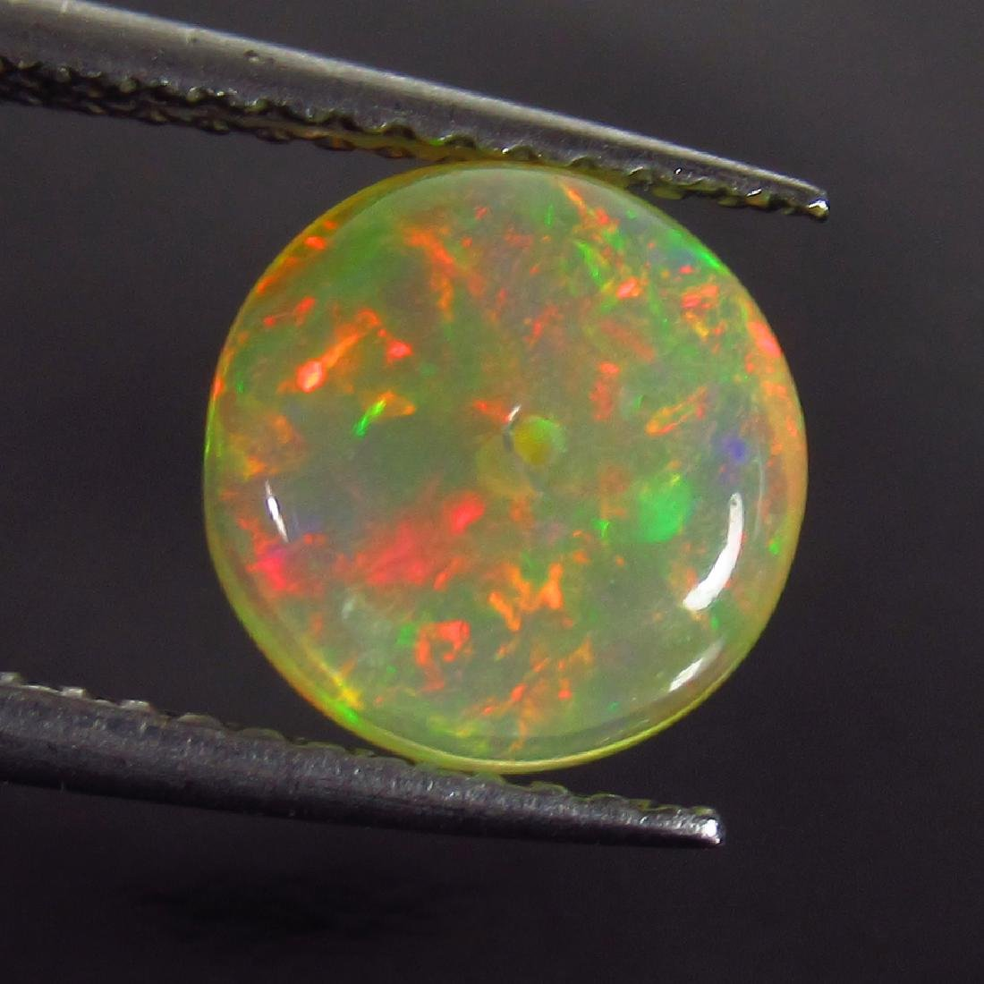1.52 Ct Genuine Drilled Multi-Color Fire 8.2 mm Round - 2