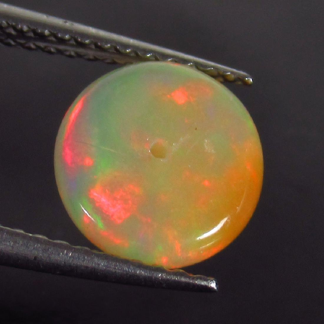 1.27 Ct Genuine Drilled Multi-Color Fire 8.5 mm Round - 2