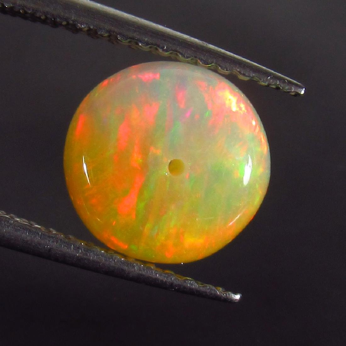 1.88 Ct Genuine Drilled Multi-Color Fire 8.2 mm Round