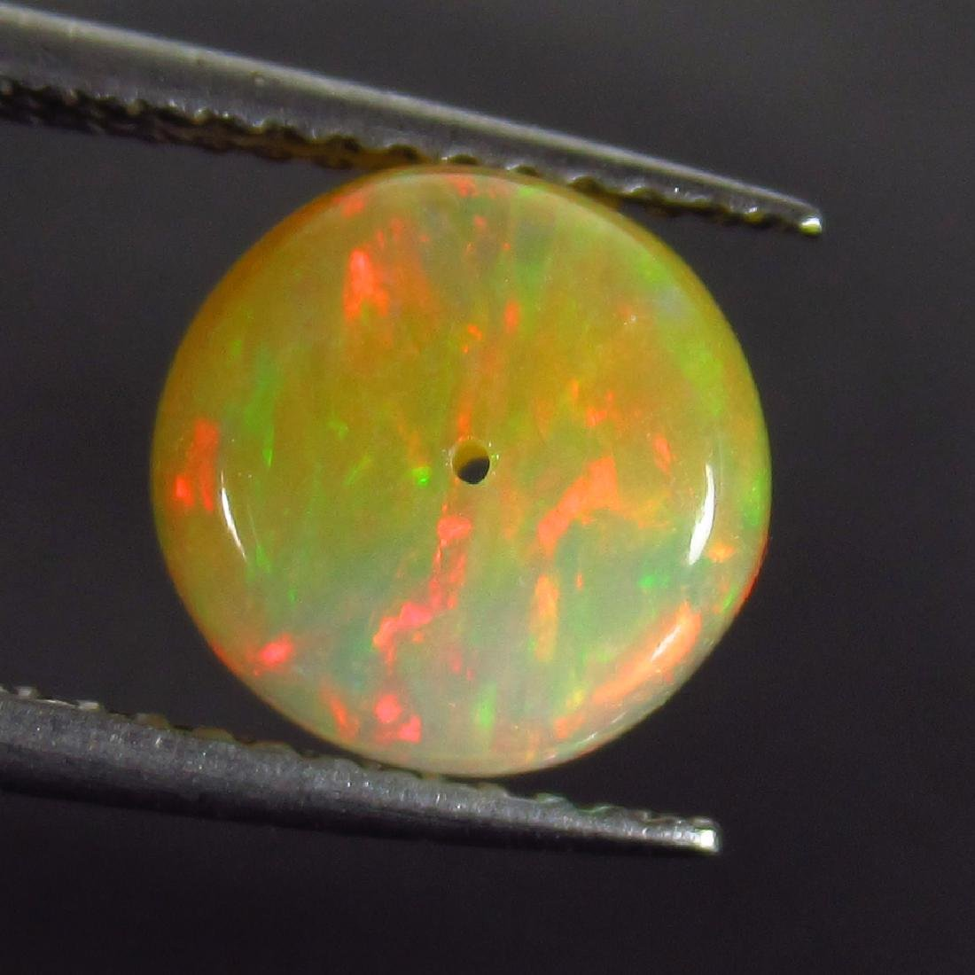 1.88 Ct Genuine Drilled Multi-Color Fire 8.2 mm Round - 2