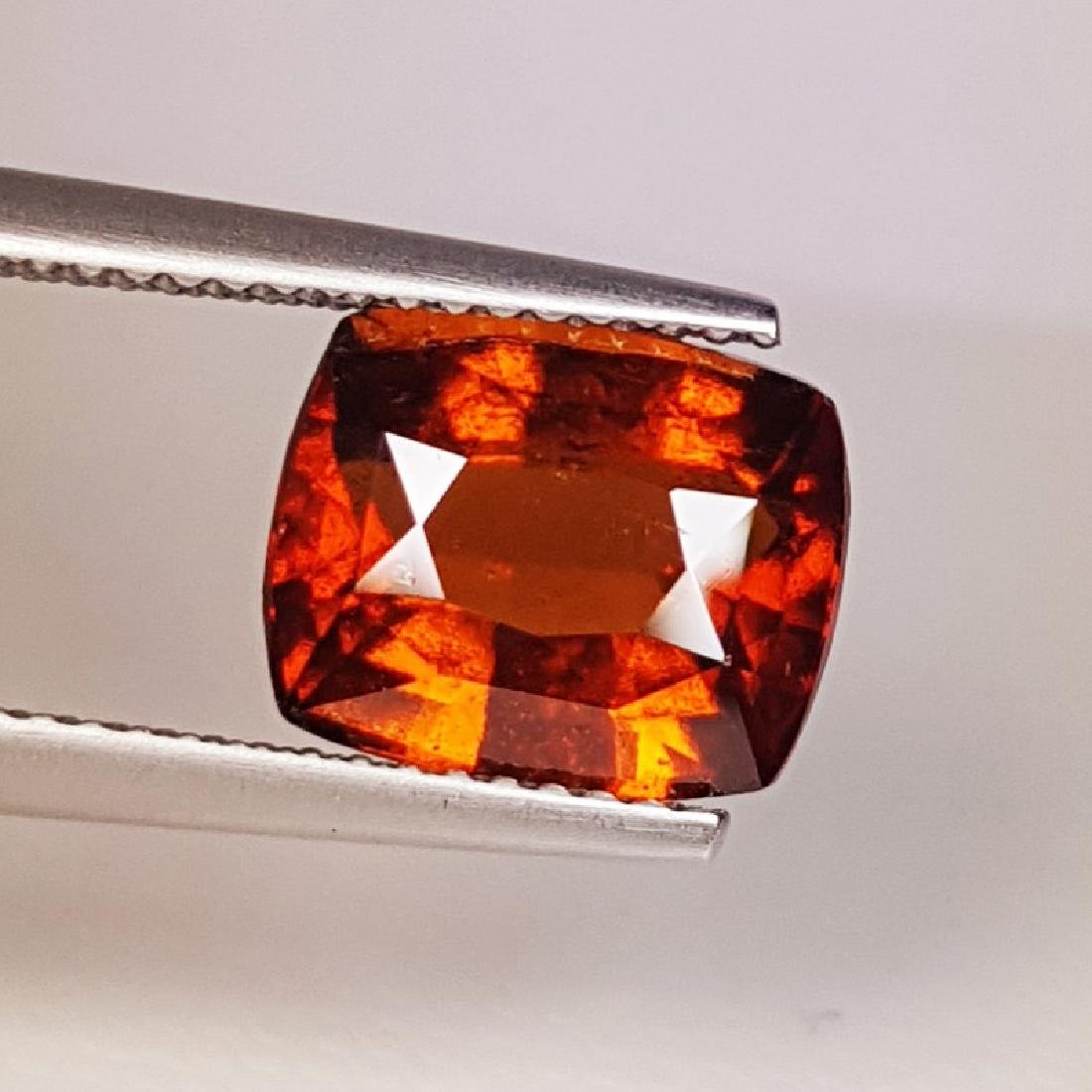 IGI CERTIFIED Natural Hessonite Garnet - 4.46 ct - 2